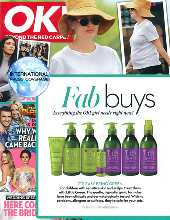 """OK!: Fab Buys """"its easy being green"""""""